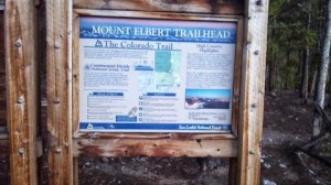 Mount Elbert Trailhead