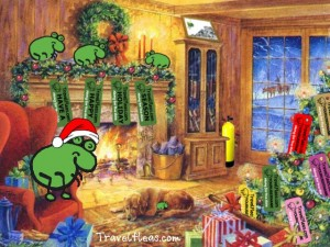 travelfleas.com Christmas Scene