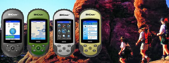 BHCNav handheld GPS units
