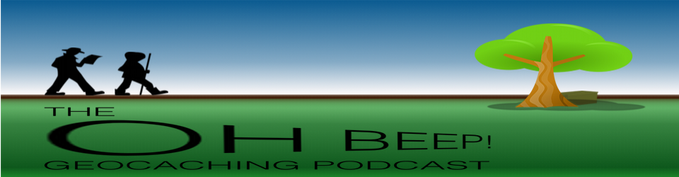 Oh Beep Geocaching Podcast Logo