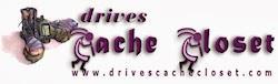Drives Cache Closet Logo
