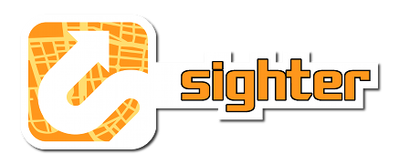 Geolocation game Sighter Logo